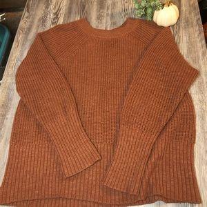 Universal Thread chunky rust autumn sweater XXL